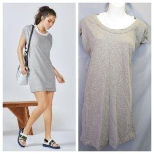 Fabletics Tasha Mini Dress Gray Athletic Knit Sz L